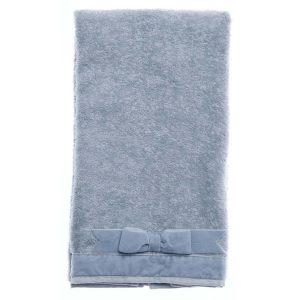 Комплект из 2 махровых полотенец с бантиком