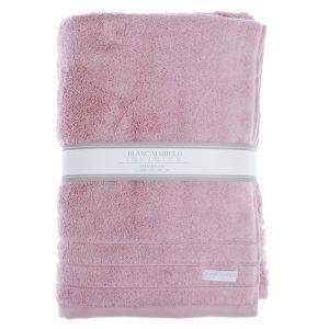 Полотенце банное розовое