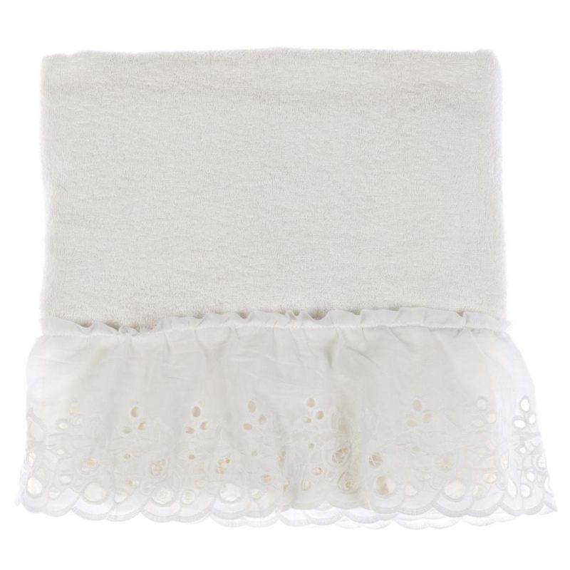 Банное полотенце в рюшами