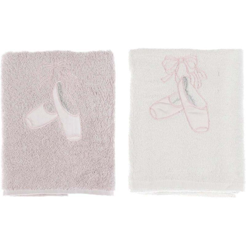 Комплект полотенец с пуантами в ассортименте