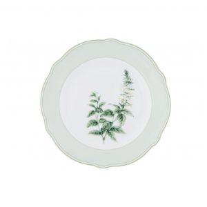"""Тарелка закусочная """"Английские травы"""""""