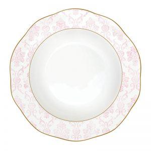 """Тарелка суповая """"Дамасская роза"""""""