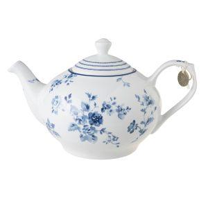 Чайник заварочный с синими цветами