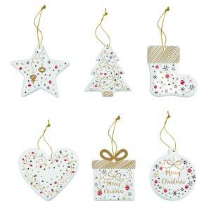 """Набор рождественских украшений """"Merry Christmas"""" в подарочной упаковке"""