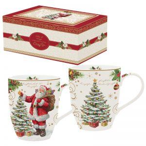"""Набор из двух кружек """"Magic Christmas"""" в подарочной упаковке"""