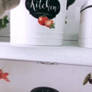 Банка для сыпучих продуктов Kitchen basic, малая