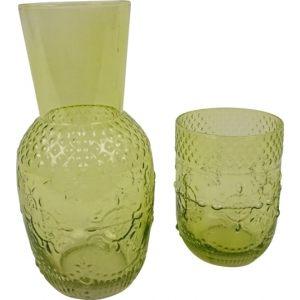 """Набор из кувшина и стакана """"Риальто"""" зеленый"""