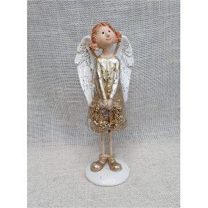 """Декор """"Ангел"""" в золотистом платье"""