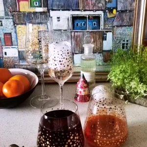"""Бокал для вина """"Новогодний"""""""