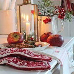Новогодний кухонный текстиль