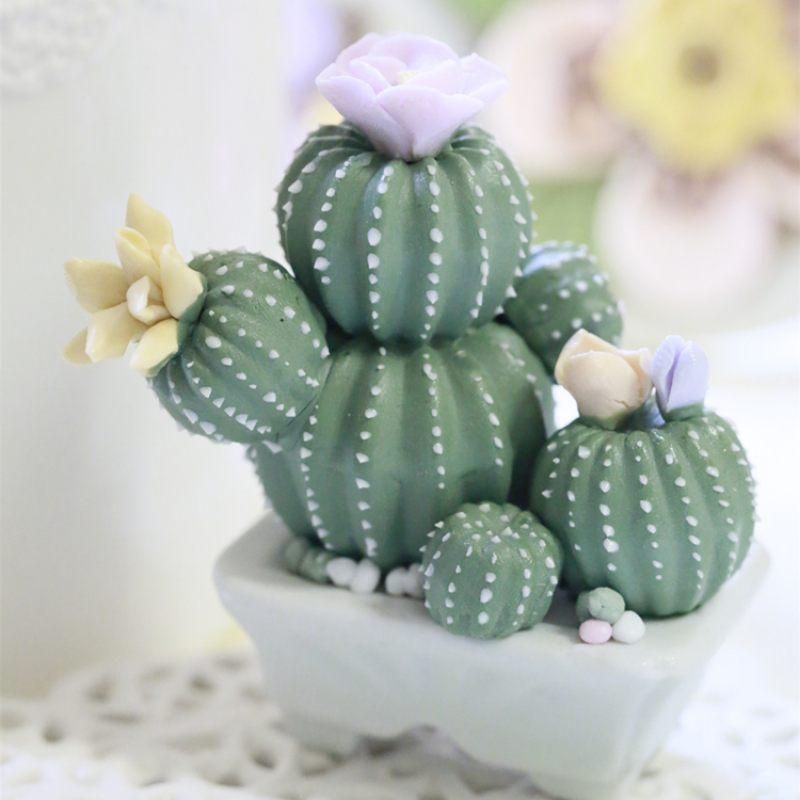 Керамический кактус