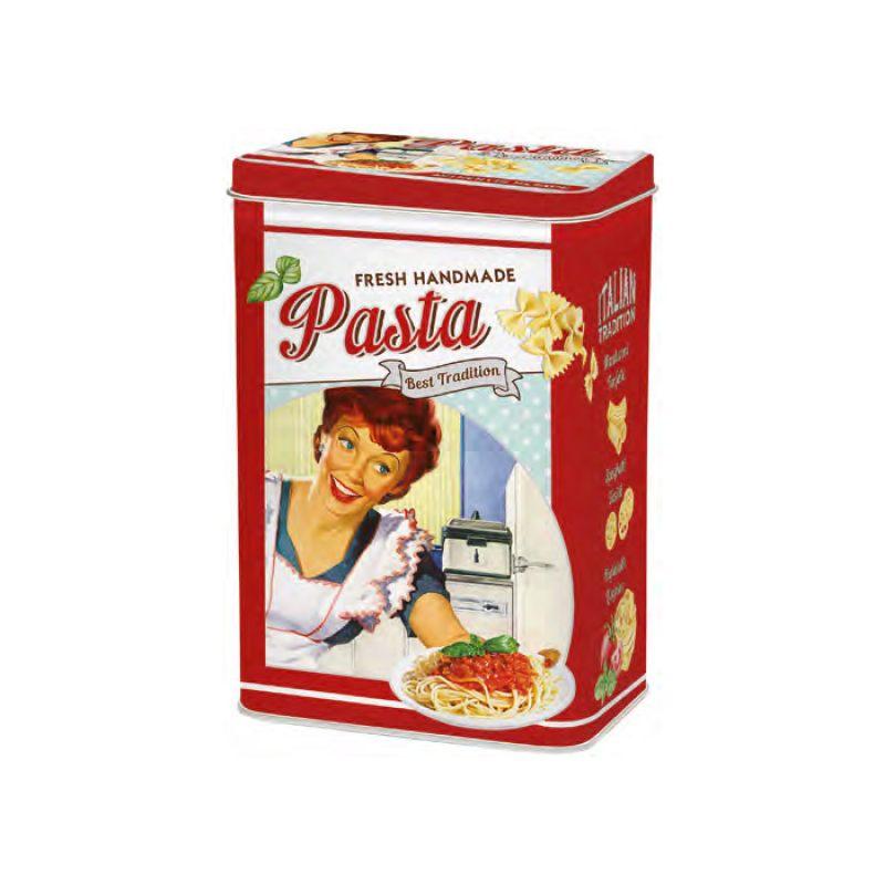 """Кухонная банка для хранения """"Pasta"""" красная"""