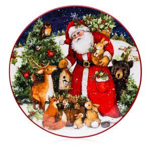 "Тарелка обеденная ""Магия Рождества. Санта"""