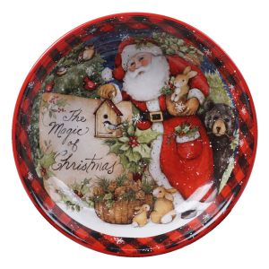 "Тарелка суповая ""Магия Рождества. Санта"""