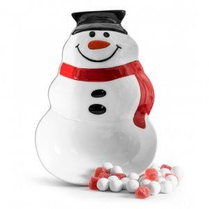 """Блюдо """"Снеговик"""" (в форме снеговика)"""
