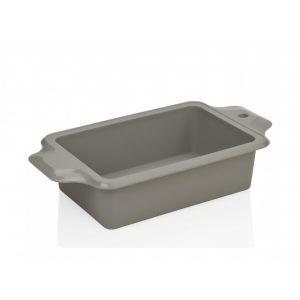 Форма для запекания прямоугольная (серый силикон)