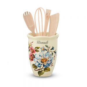 """Ёмкость для кухонных принадлежностей """"Petali di Primavera"""""""