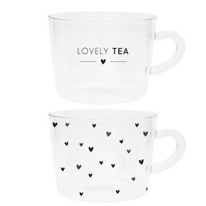 Чашка для чая прозрачная