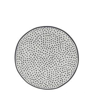 "Тарелка десертная ""White/little dots in black"""
