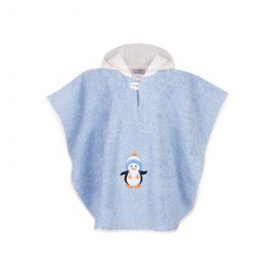 """Детское полотенце-пончо """"Рико"""" 64х50 см"""