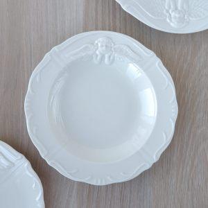 Тарелка суповая кремовая с Ангелочком