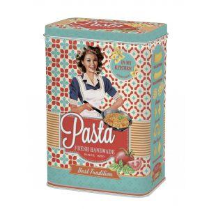 """Кухонная банка для хранения """"Pasta"""" бирюзовая"""