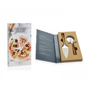 """Подарочный набор """"Нож и лопатка для пиццы"""""""
