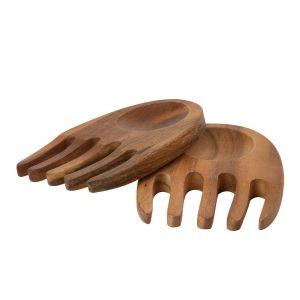 Набор приборов для салата «Руки» Italian Acacia