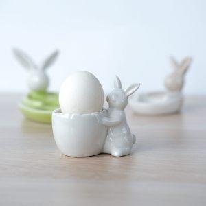"""Подставка для яиц """"Белый кролик"""""""