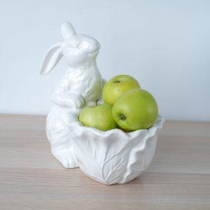 Конфетница с Кроликом-Пушистиком