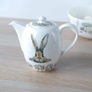 """Чайник заварочный """"Кролик в цветах"""""""