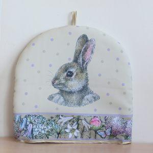 """Грелка на чайник """"Кролик в цветах"""""""