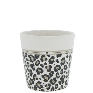 "Чашка ""White/leopard and stripes"" (для кофе)"
