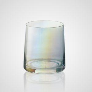 Стакан стеклянный цветной