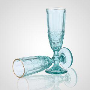 """Бокал для шампанского """"Regal"""" голубой"""