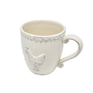 Чашка керамическая с курочкой