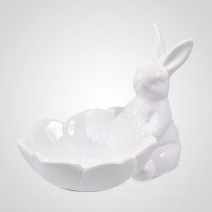 Бонбоньерка-Цветок с Кроликом-Зефиром
