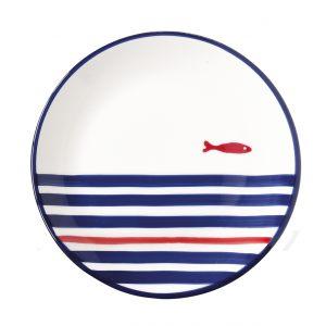 """Тарелка закусочная """"Dolce Vita. Pantelleria"""" (рыбка)"""