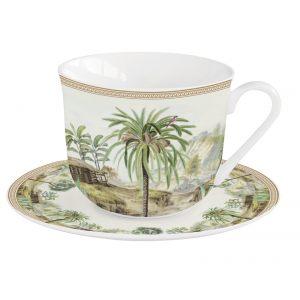 """Чашка и блюдце для завтрака """"Ceylon"""" в подарочной упаковке"""