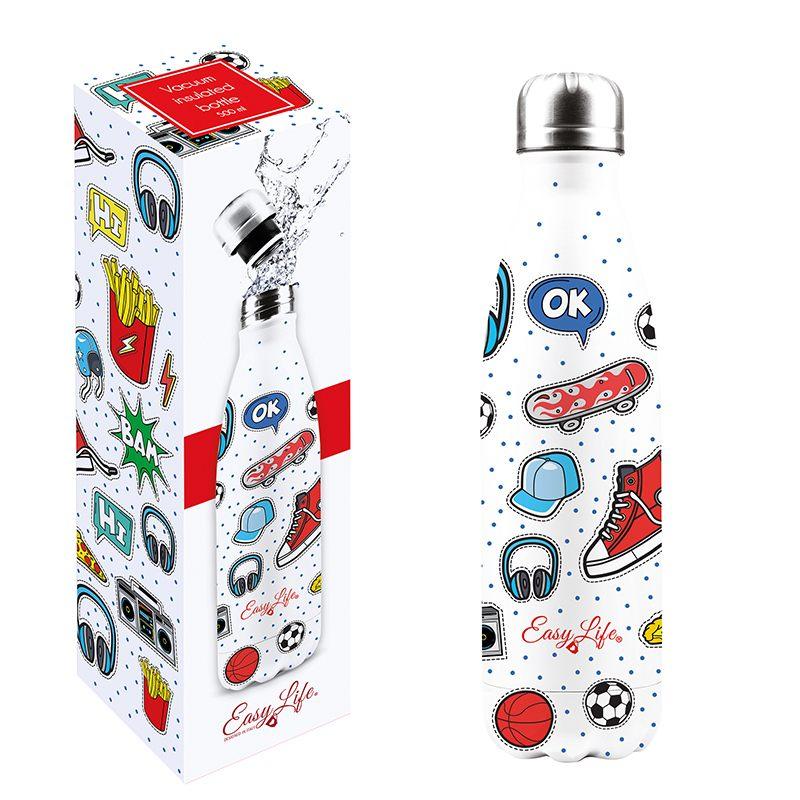 """Бутылка для напитков """"Teenager"""" в подарочной упаковке"""