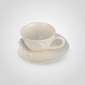 """Чашка с блюдцем """"Коралл"""""""