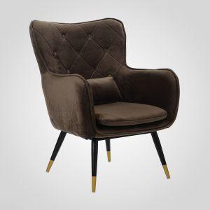 """Кресло интерьерное с подушкой """"Бархат"""""""
