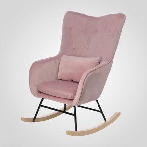 "Кресло-качалка с подушкой ""Бархат"""