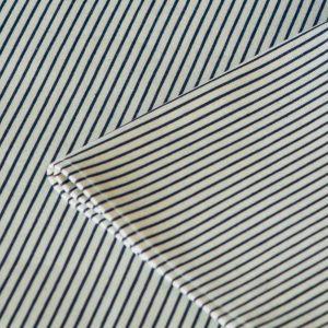 Салфетка белая в полоску