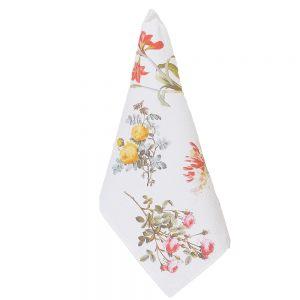 """Полотенце кухонное """"Цветы на белом"""""""