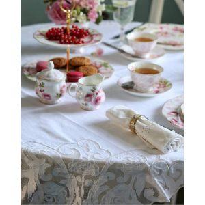 """Чашка с блюдцем """"Дамасская роза"""" 200 мл в подарочной упаковке"""