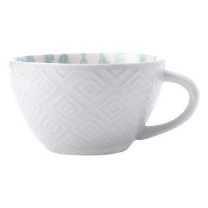 "Суповая чашка ""Alhambra"" красно-зеленая"