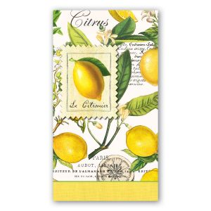 """Салфетки бумажные трехслойные """"Лимон"""""""