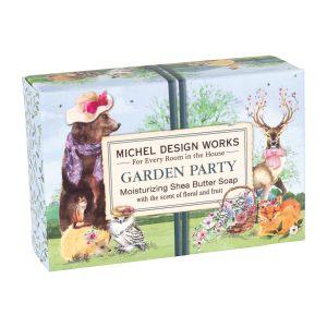 """Мыло в подарочной коробке """"Вечеринка в саду"""""""