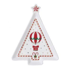 """Блюдо """"Christmas Wonderland"""" в форме рождественской ёлочки в подарочной упаковке"""